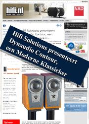 Hifi Solutions presenteert Dynaudio Contour, een Moderne Klassieker
